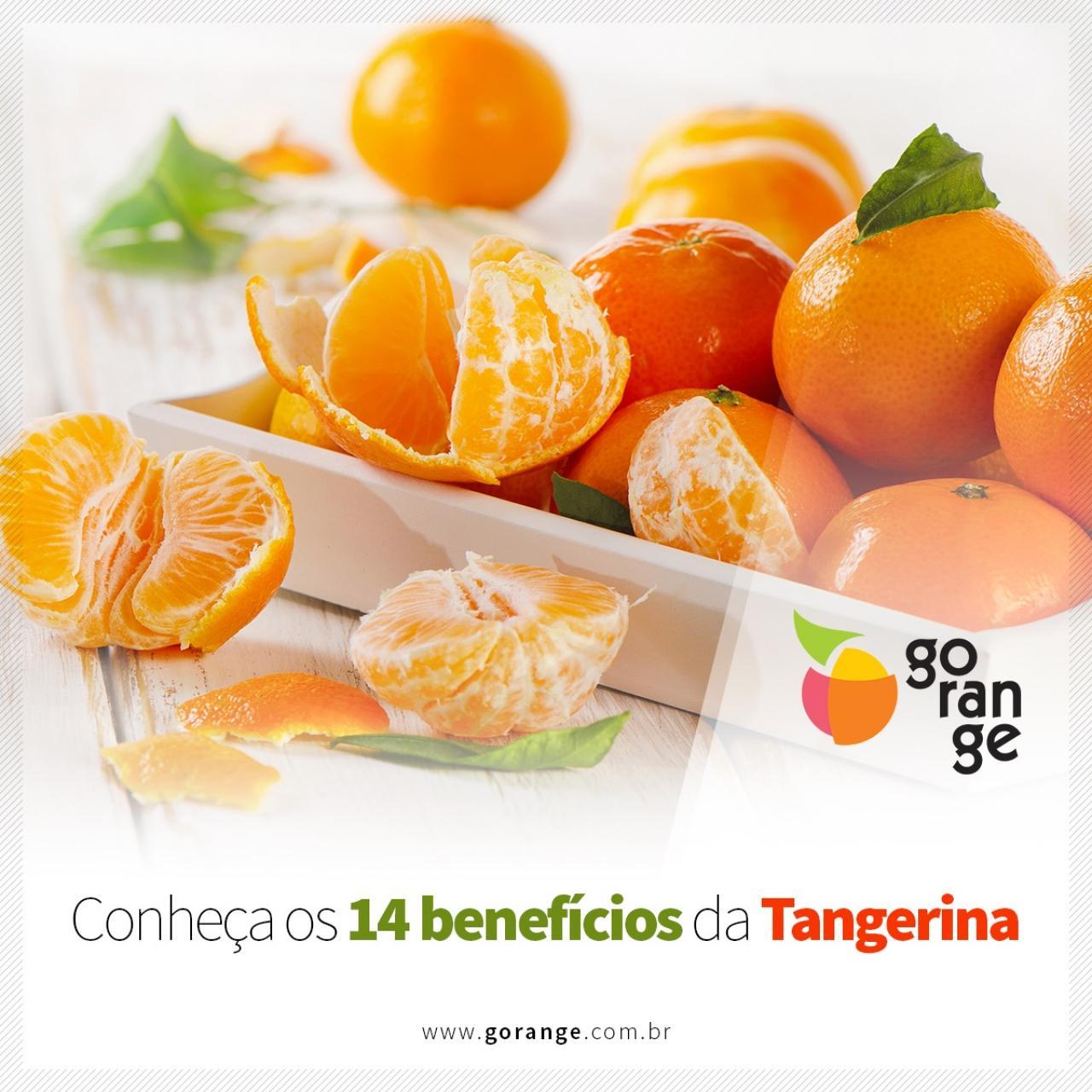 Conheça os 14 Benefícios da Tangerina