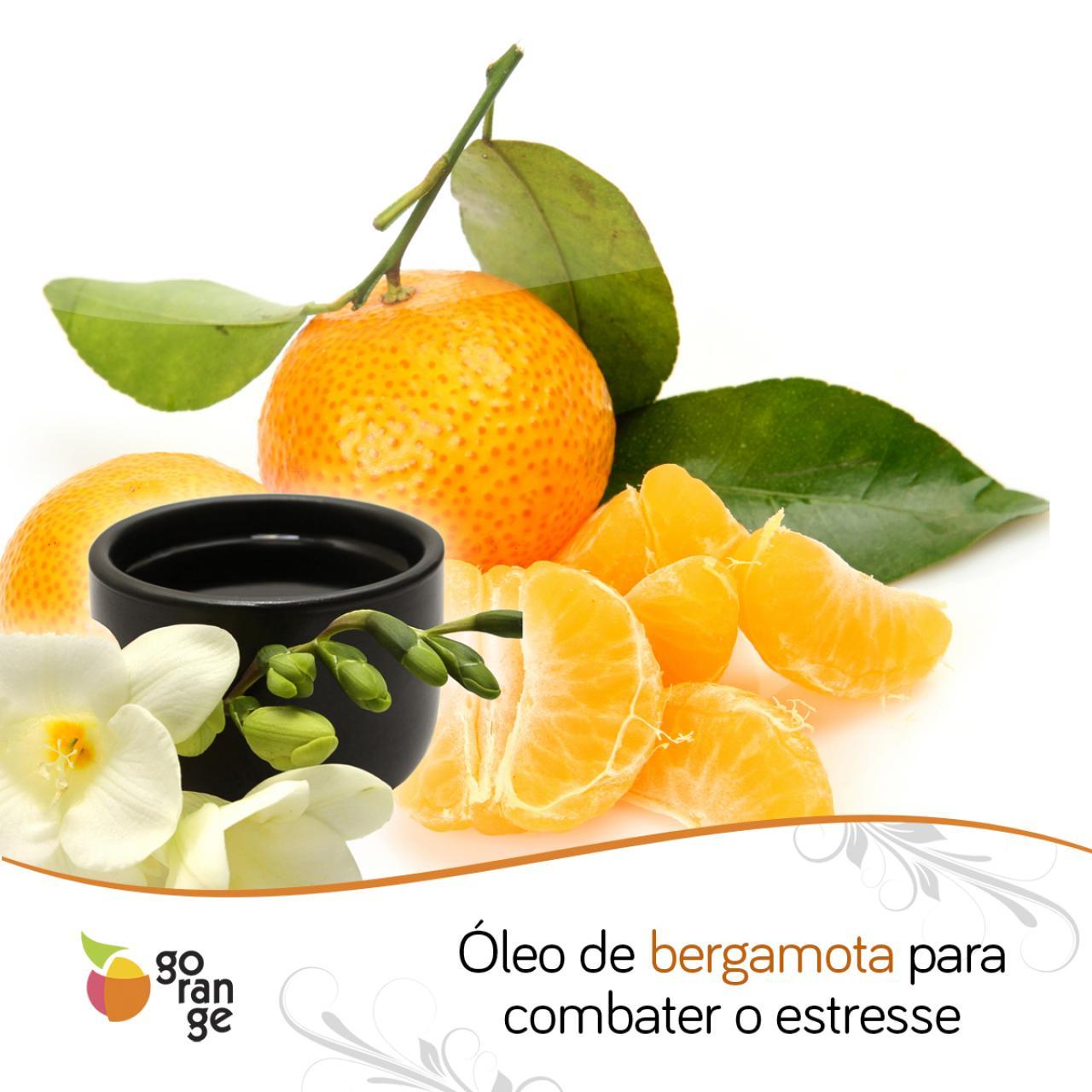 Óleo de bergamota para combater o estresse