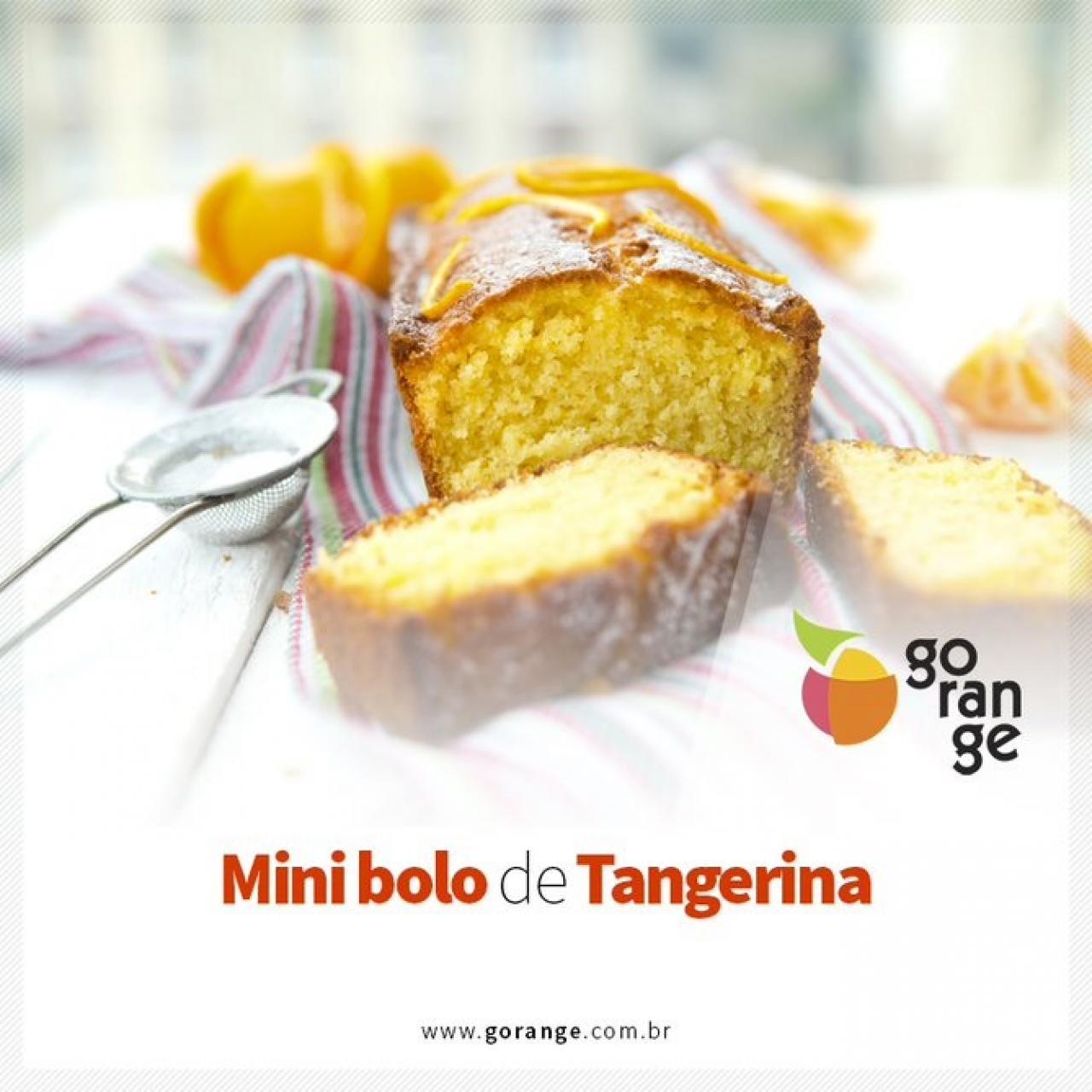 Mini bolo de Tangerina