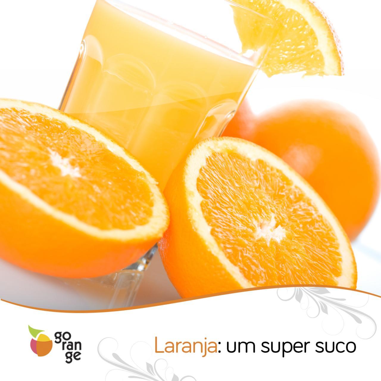 Inicie a semana com um super suco de laranja