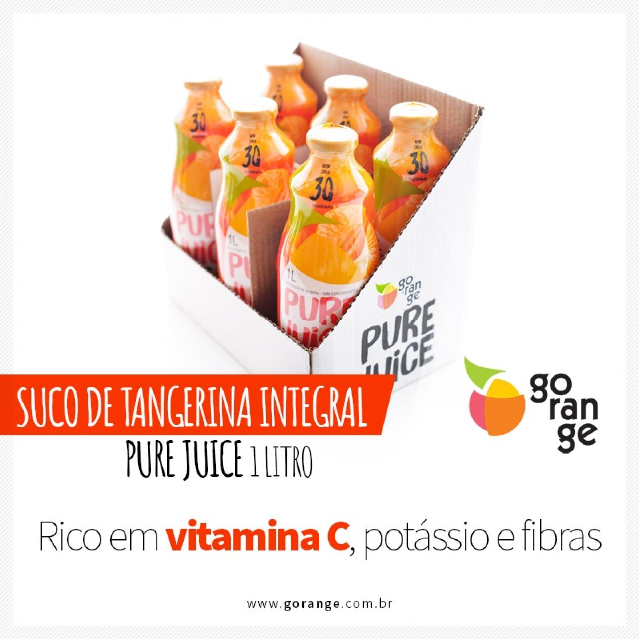 Pure Juice Integral Tangerina