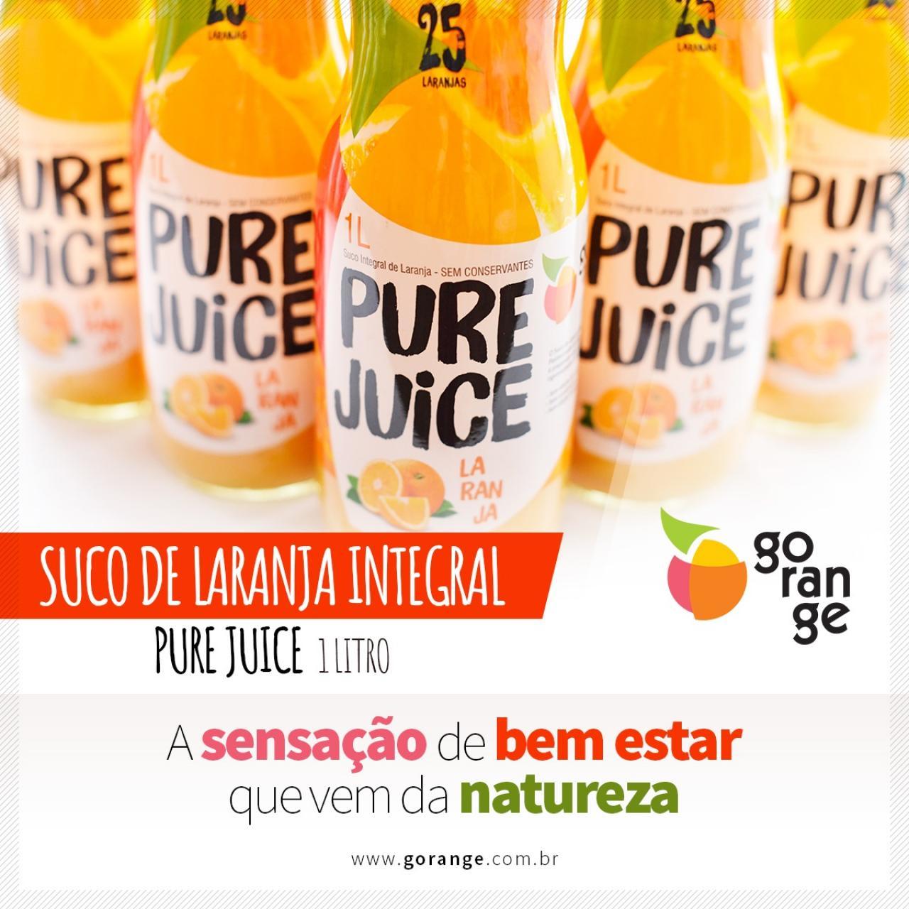 Pure Juice - A sensação de Bem estar que vem da Natureza