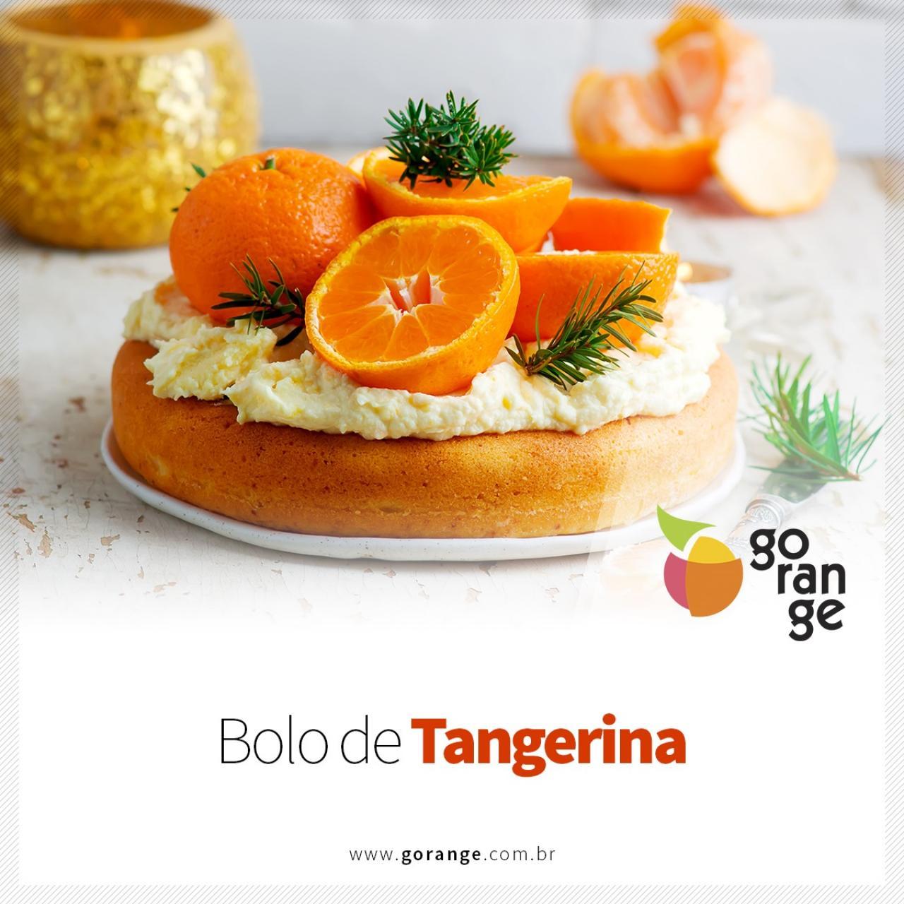 Deliciosa receita de Bolo de Tangerina