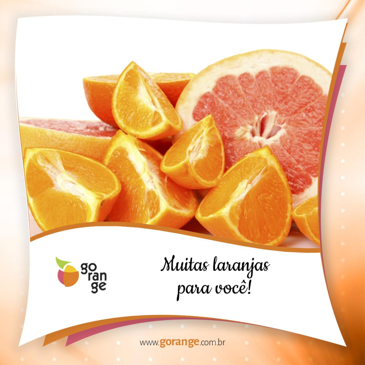 Muitas laranjas para você