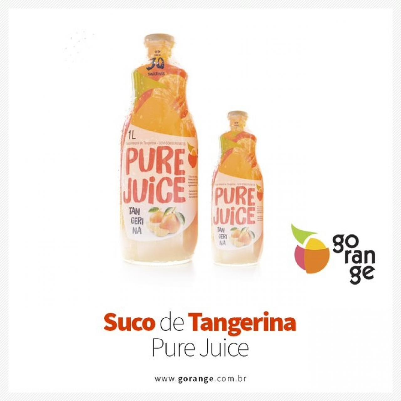 Suco de Tangerina Integral Pure Juice