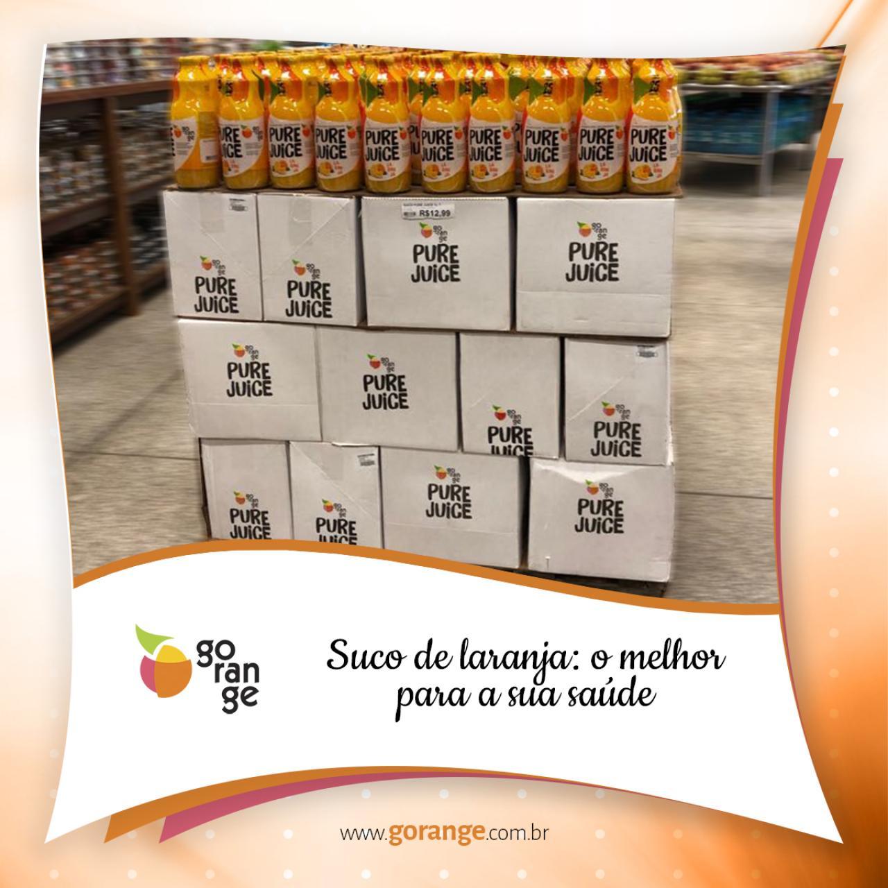 Suco de laranja: o melhor para a sua saúde