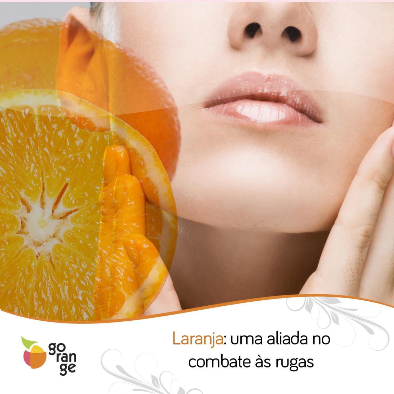 Combata as rugas com a laranja
