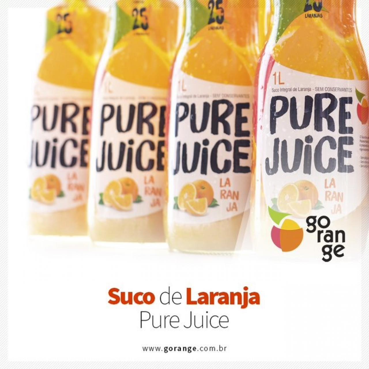 Suco de Laranja Integral - Pure Juice