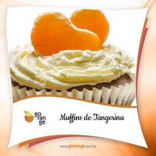 Muffins de tangerina