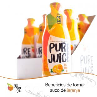 Benefícios de tomar suco de laranja